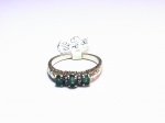 Emerald & Diamond in 14kt. Yellow Gold Ring