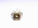Citrine in 14kt. Yellow Gold Ring