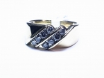 1cttw. Diamond in 14kt. Yellow Gold Men's Ring