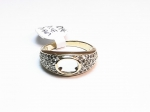10kt. Yellow Gold with Diamonds Semi-Mount Ring